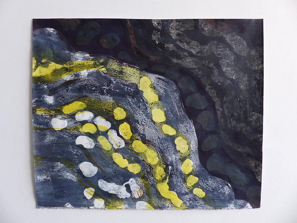 Jason Rosenberg - Ridges and Plates Painting